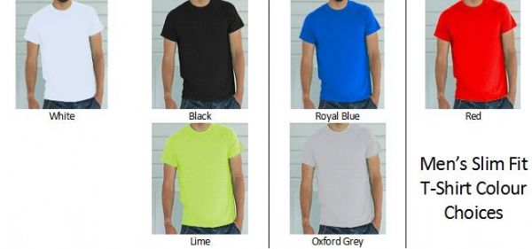 Men's Custom Design Personalised T-Shirt